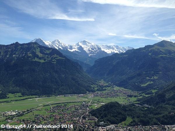Interlaken en de Jungfrau