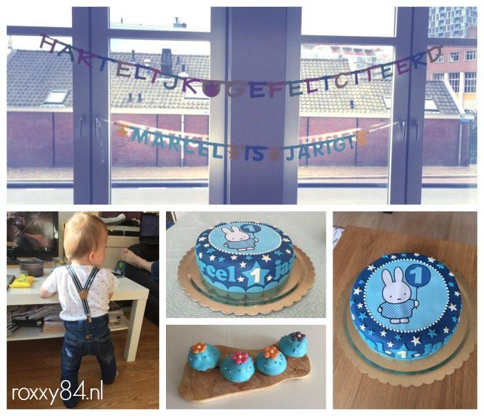 Marcel 1 jaar zaterdag taart